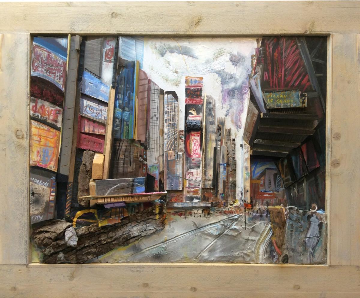 Time Square - 112 x 147